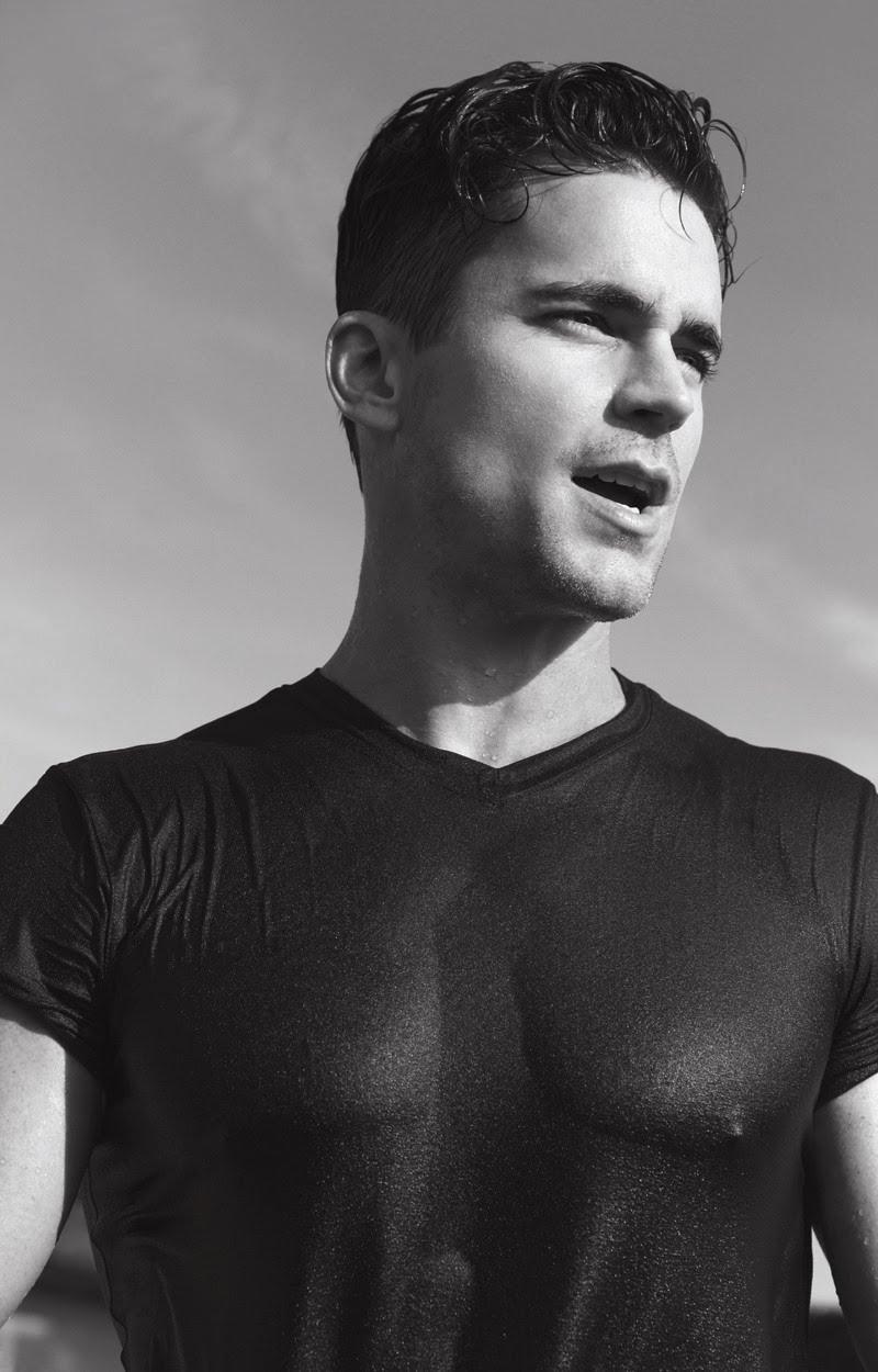 DEMIGODS: Matt Bomer shows off his sexy bod on the Cover ...