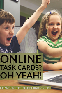 Online, Digital Task Cards with Boom Learning℠ are highly engaging, self-grading, and fun!