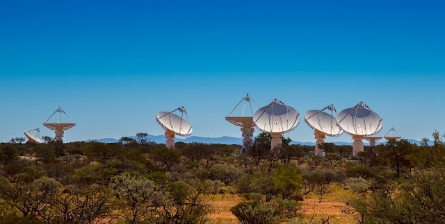 Dishes of CSIRO's Australian Square Kilometre Array Pathfinder  ©Kim Steele