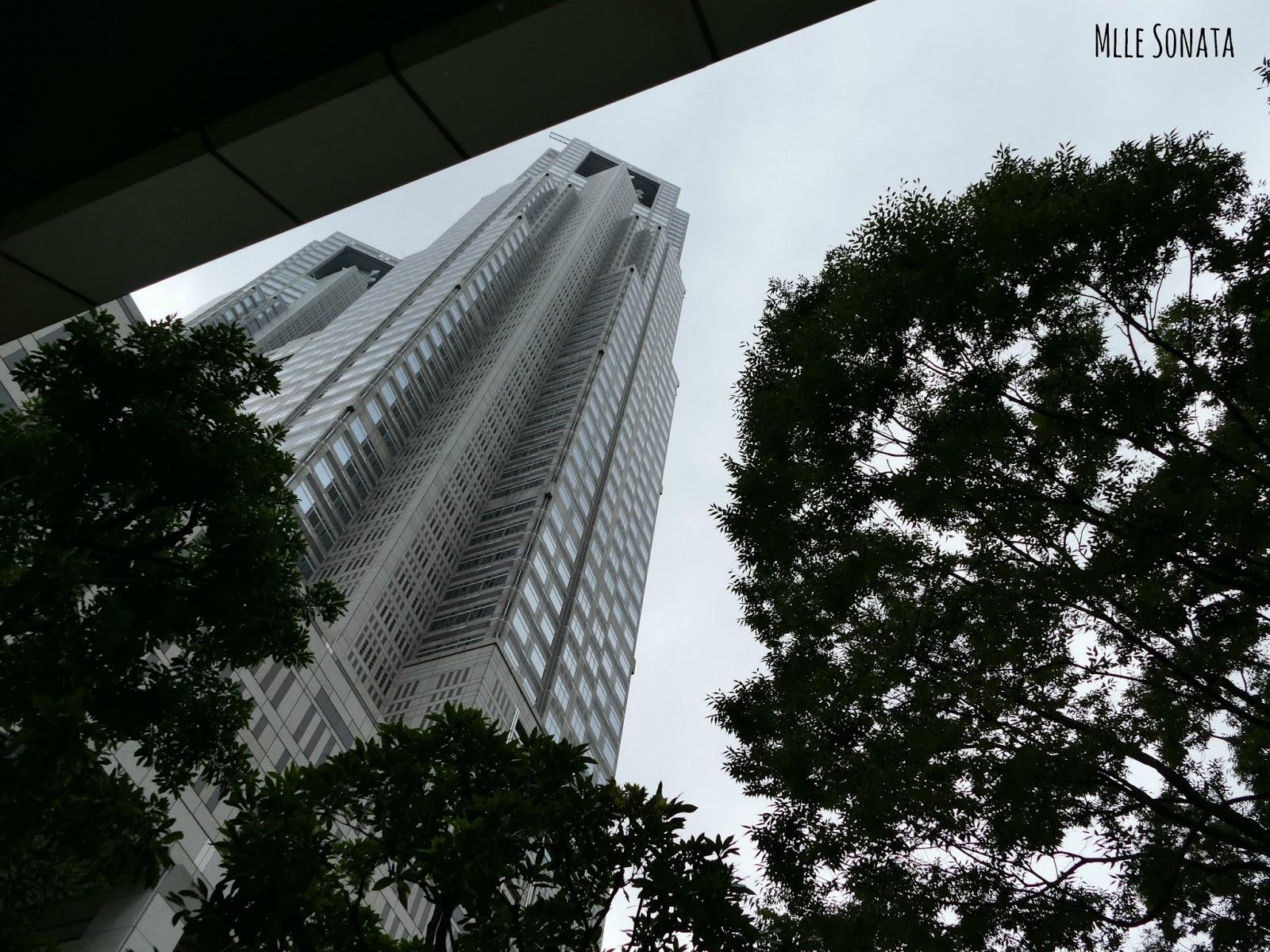 Tokyo Metropolitan Government Building.