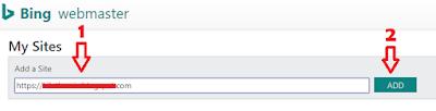 Cara mendaftarkan blog ke Bing webmaster tool
