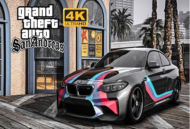 تحميل لعبة Gta San Andreas 4k Ultra HD
