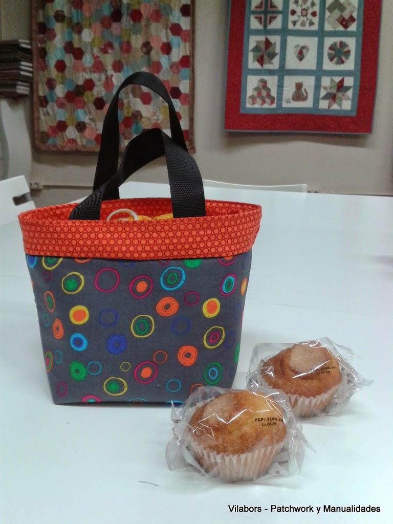 Lunch Bag - Vilabors, Patchwork Vilafranca del Penedès