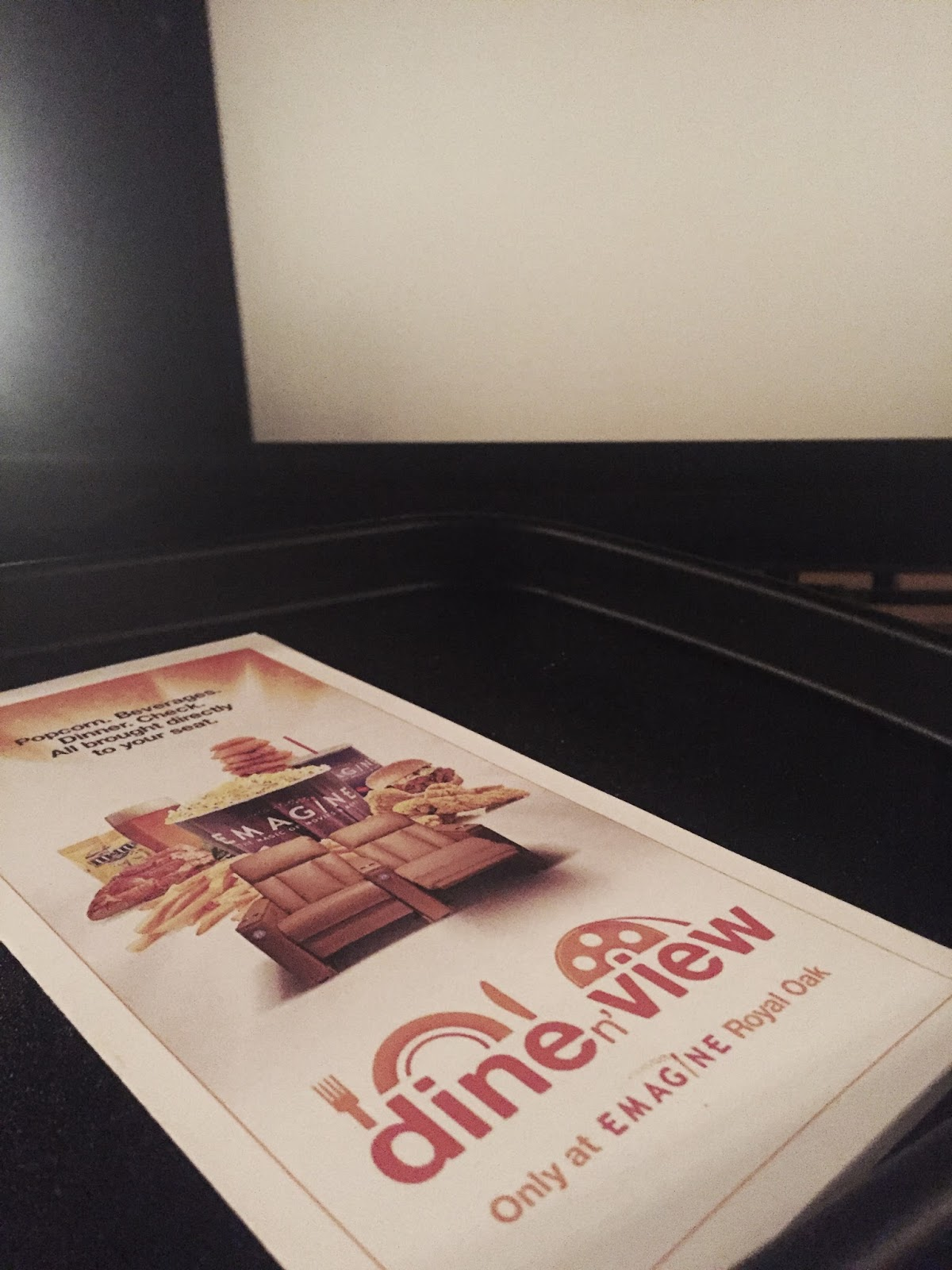 Emagine Theatre: Dine n' View - Fashion meets Food