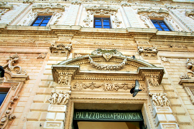 monumento, finestre, architettura barocco, palazzo, facciata
