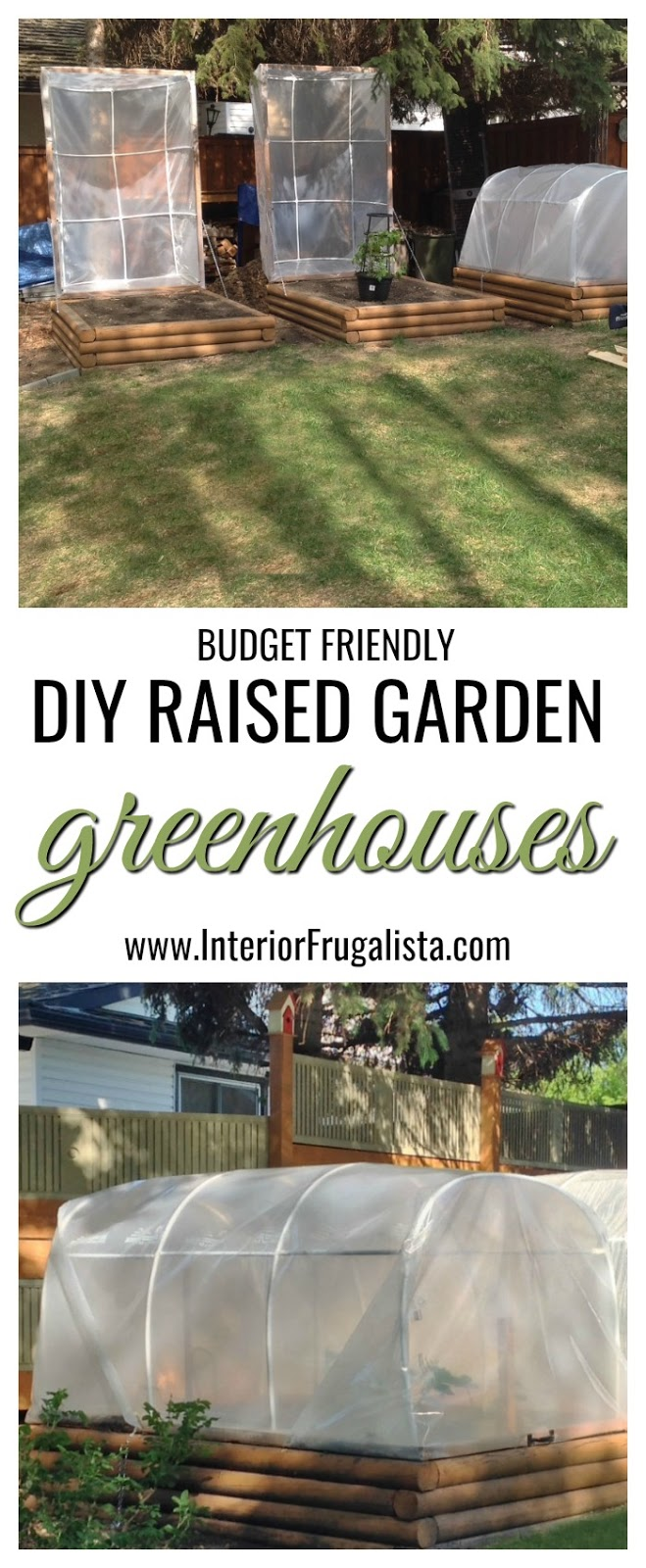 Budget-Friendly DIY Raised Garden Greenhouses