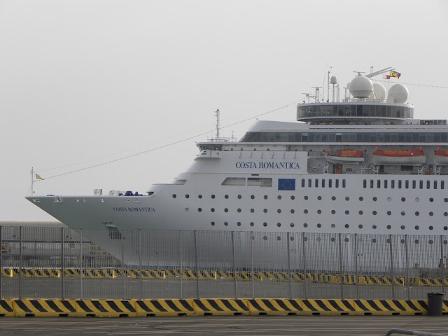 cruise port of Civitavecchia
