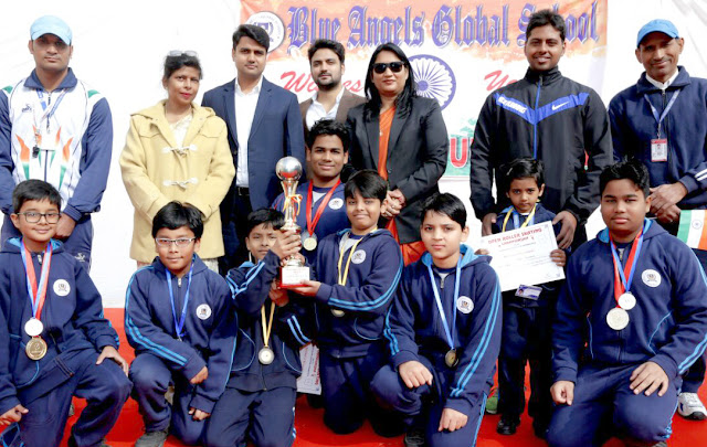 Inter School Roller Skating Competition at Blue Sanjay Global School