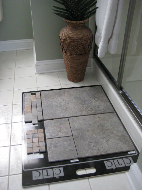 Gray Tiles - choosing tile samples
