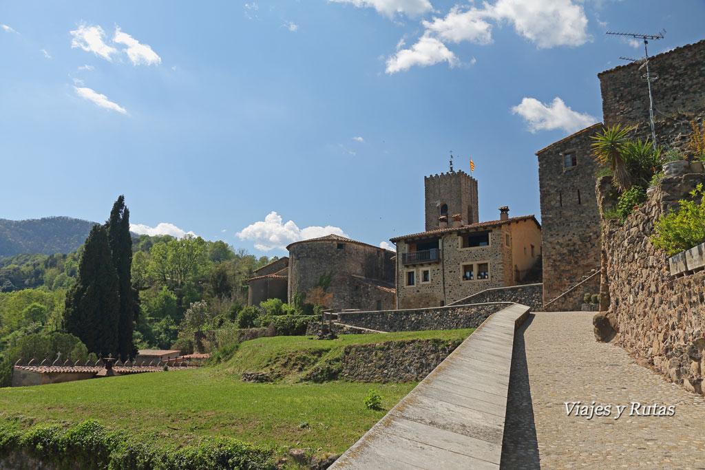 Santa Pau en la Garrotxa, Girona