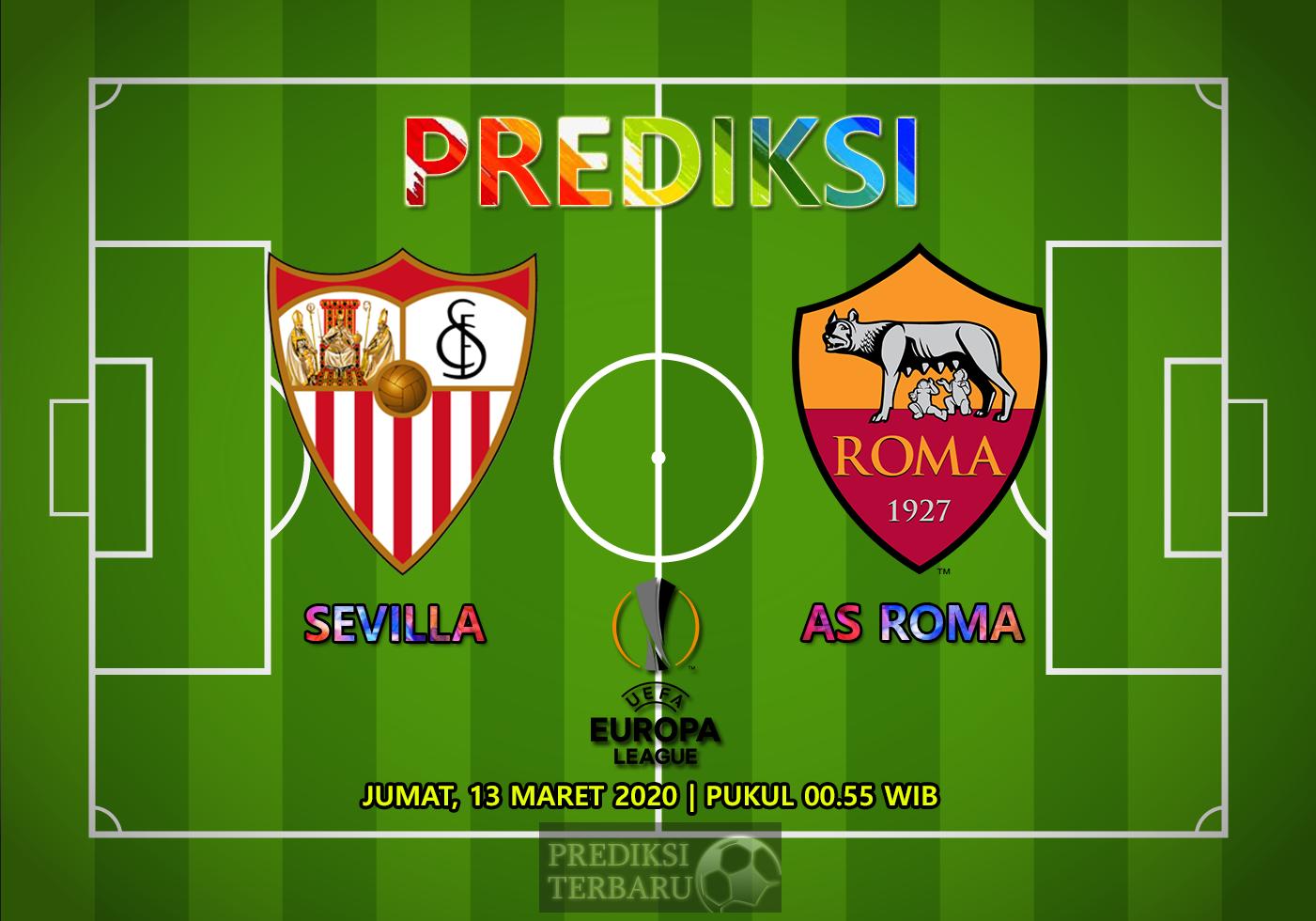 Prediksi Sevilla Vs Roma Jumat 13 Maret