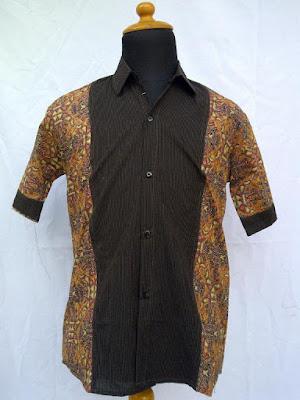 Baju Batik Pria Modifikasi