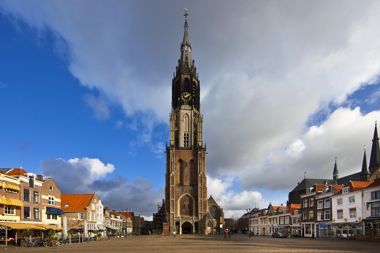 Fotograaf Michael Van Oosten Oude Kerk En Nieuwe Kerk In