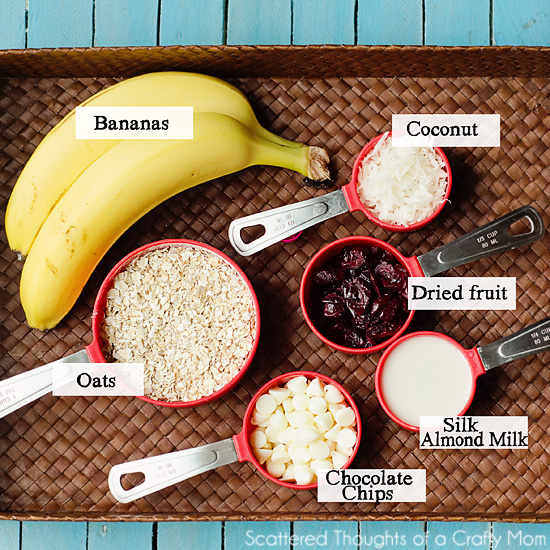 Healthy Banana and Oatmeal Cookies (no butter, sugar, flour or dairy) - Scattered Thoughts of a ...
