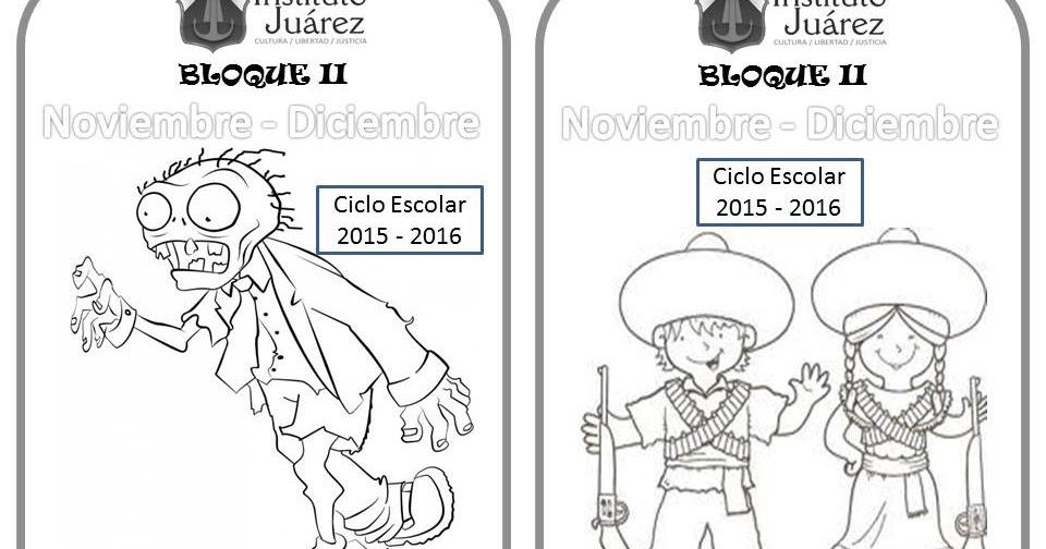 Imagenes Para Portada De Español Para Colorear: Instituto Juárez 1° Primaria: Portadas De Español Segundo