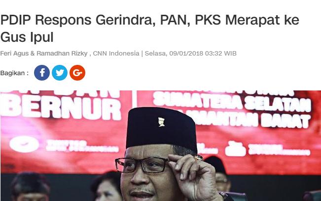 Mesra Dengan PDIP, Presidium Alumni 212 Ancam Cabut Dukungan Kepada Gerindra, PKS dan PAN
