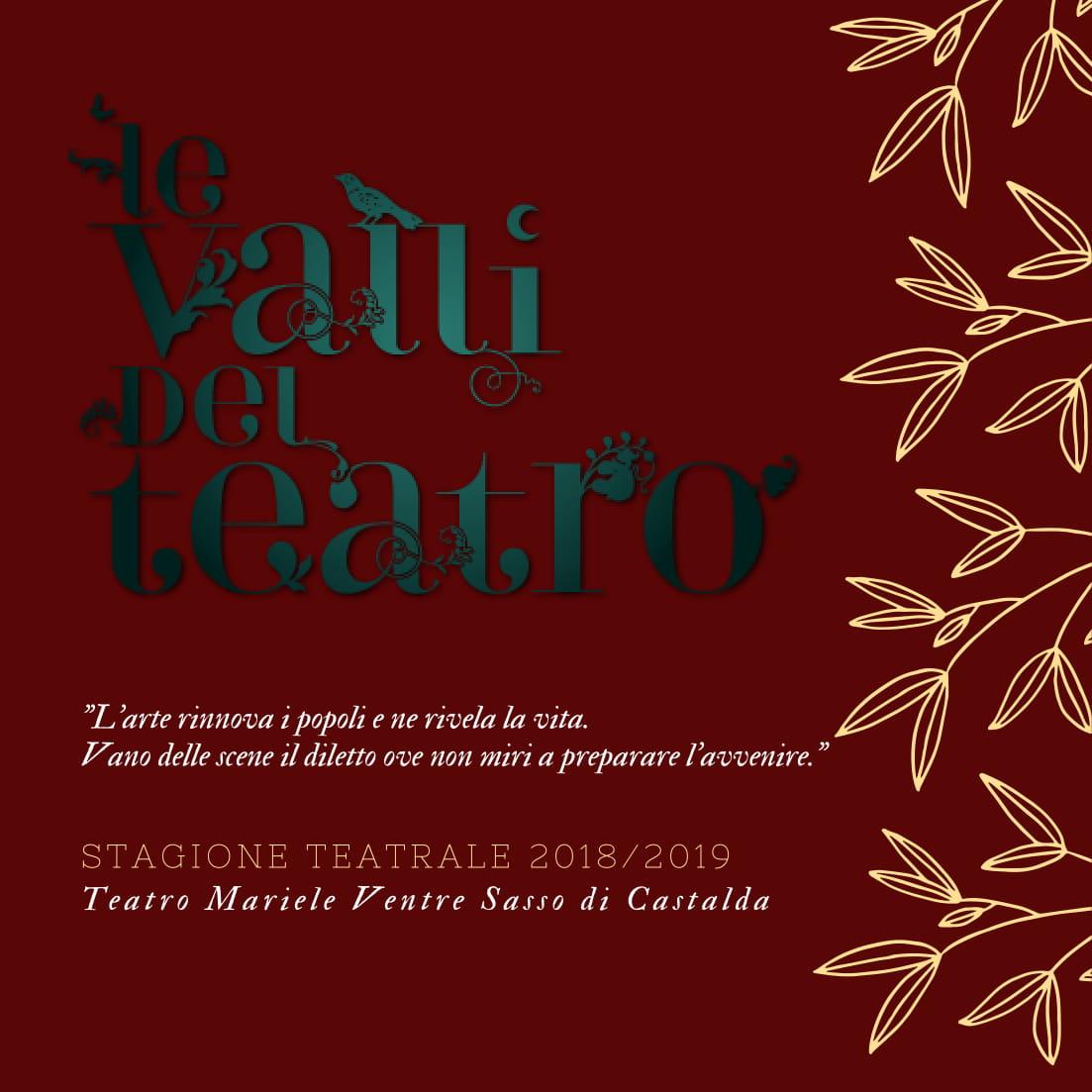 """Si alza il sipario su una nuova edizione de """"Le Valli del Teatro"""" 30cef011d09f"""