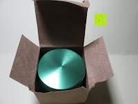 auspacken: DCOU tabak schleifer Alu tobacco grinder tabak spice herb pollen anlage gras mühle 4 schichten aluminium crusher - Ø55mm H48mm grün