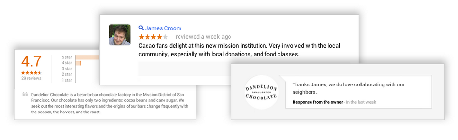 Google Small Business: Announcing Reviews in Google Places
