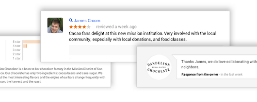 Announcing Reviews in Google Places for Business