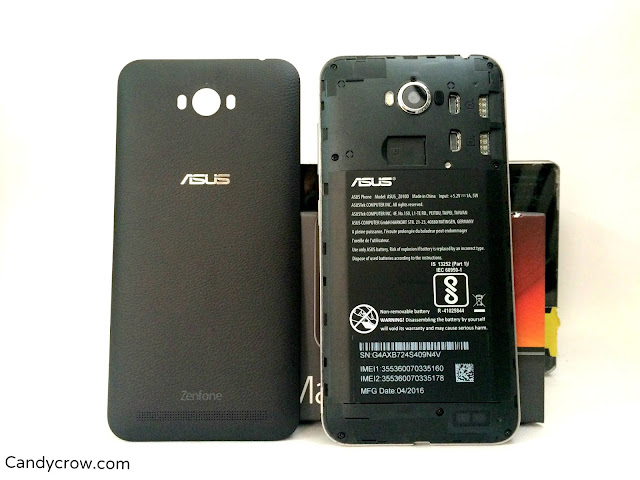 Asus Zenfone Max Review battery