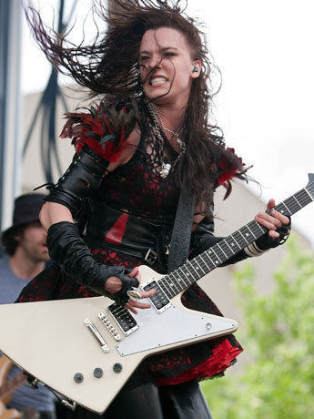 Which metal chick is hotter ign boards - Lzzy hale boyfriend ...