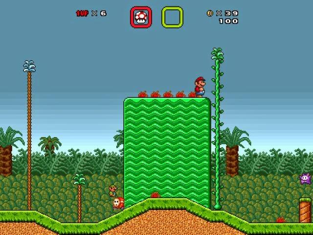 Super Mario Bros X PC Games Gameplay