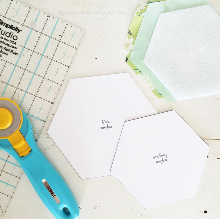 coaster size template - tinkerwiththis tinks hexie coaster a tutorial