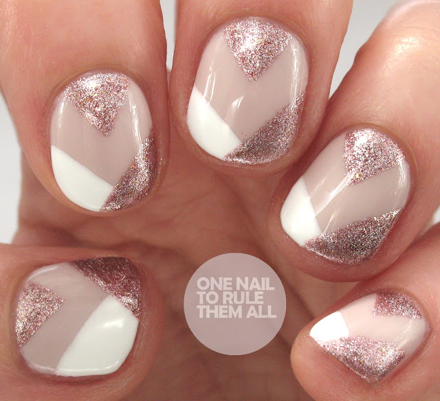 One Nail To Rule Them All: Barry M Lilac Roses Tutorial