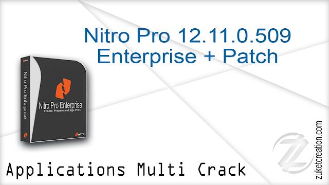 Nitro Pro 12.11.0.509 Enterprise + Patch