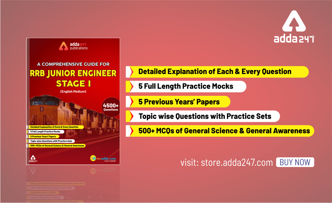 RRB JE 2019 Stage 1: RRB JE Books | Comprehensive Guide in English