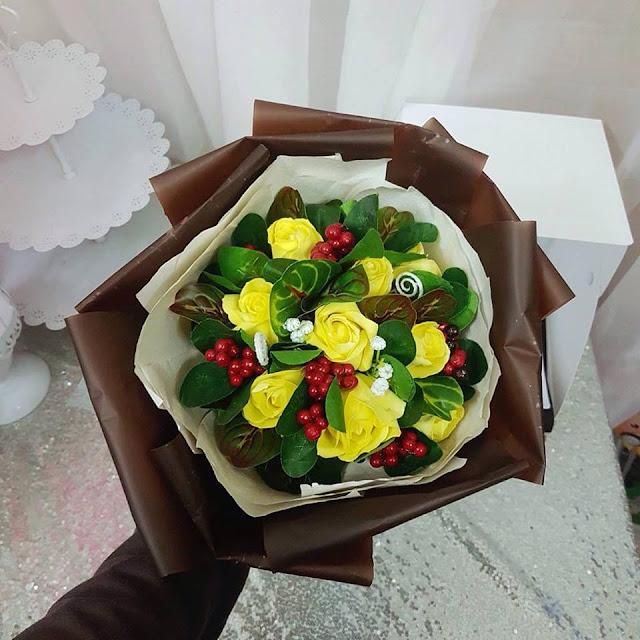 Hoa hong sap thom vinh cuu tai Ba Vi