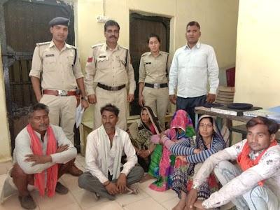 स्थायी वारंटी धरपकड़ अभियान -: कैंट थाना पुलिस द्वारा 6 स्थायी वारंटी को दबोचा | Guna News