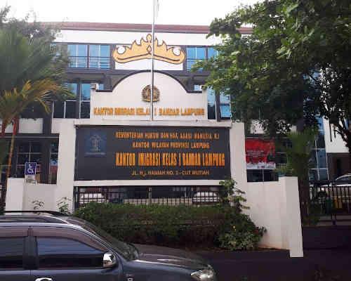 Alamat Telepon Kantor Imigrasi Kelas I TPI Bandar Lampung