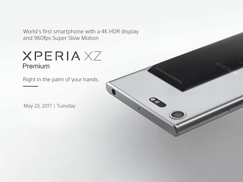 Sony Xperia XZ Premium To Launch In PH This May 23!