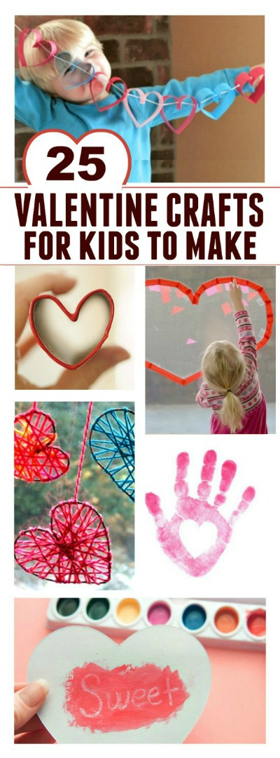 VALENTINES CRAFTS FOR KIDS: 50+ easy & fun ideas that will melt your heart!  #valentinesforkids #valentinescrafts #valentinesactivitiesforkids