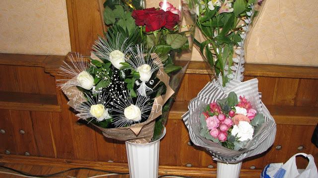 подаренные цветы