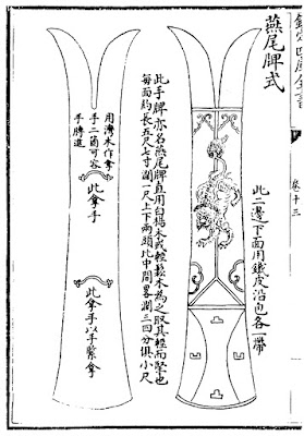 Ming Chinese Long Shield