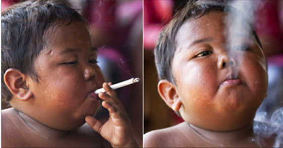6 Years Later: How The Smoking Indonesian Toddler Looks Like Today