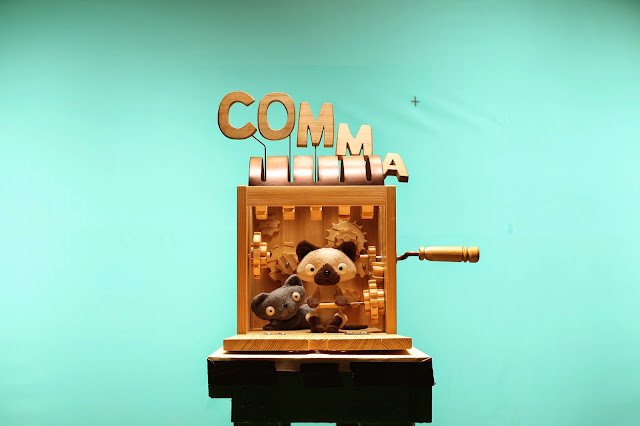 Comma Studio making film stop-motion storyboard