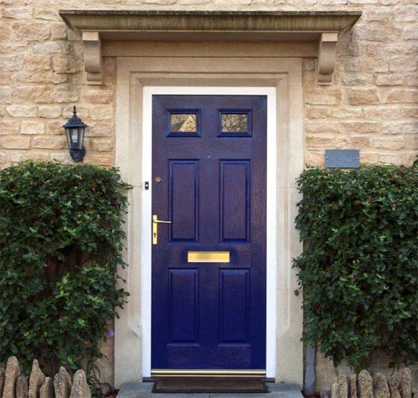 Marzua puertas exteriores for Modelos de puerta de madera para casa