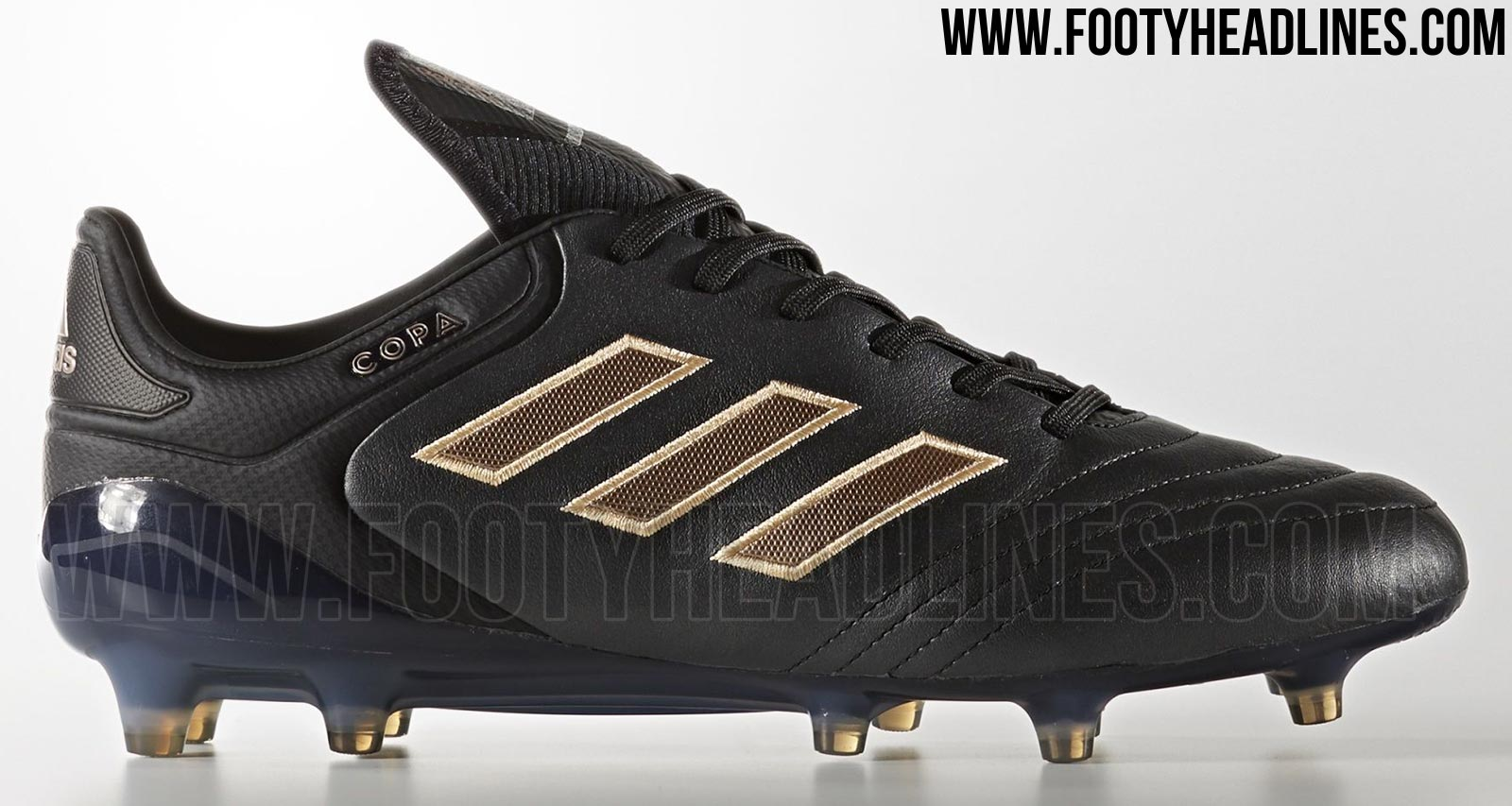 adidas copa mundial black and gold