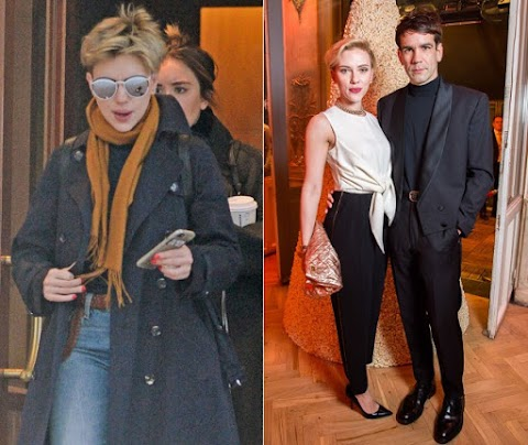 Actress Scarlett Johansson's Second Marriage Crashes after 2 years .