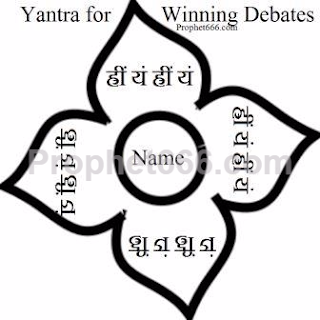 Hindu Occult Voodoo Yantra for Winning Debates and Arguments