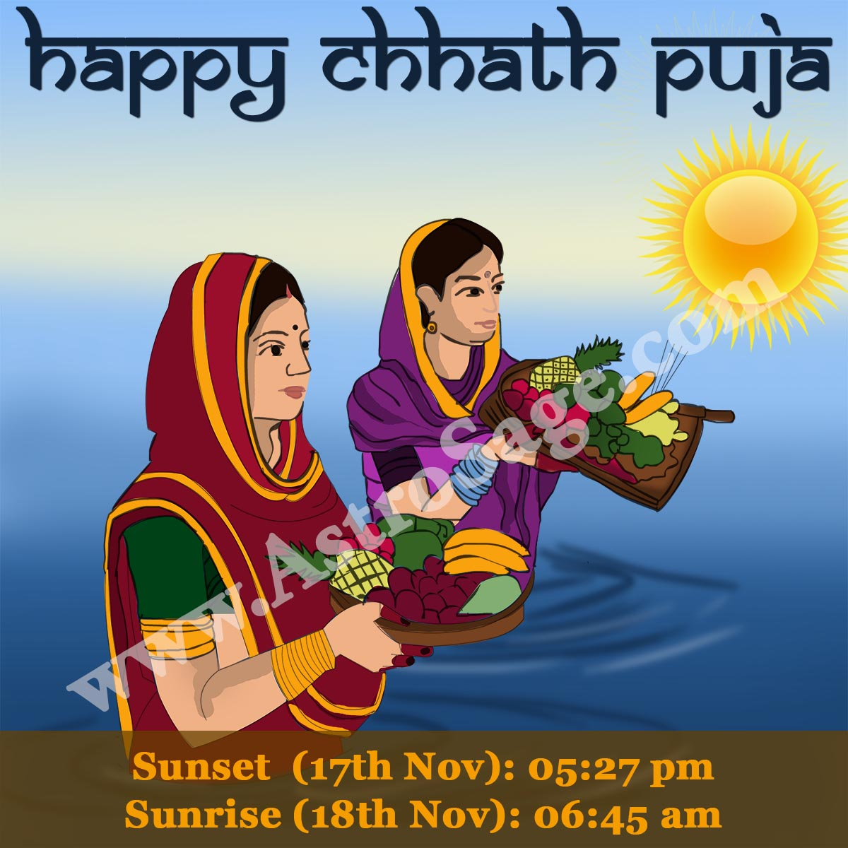 AstroSage Magazine: Chhath Puja 2015 Muhurat