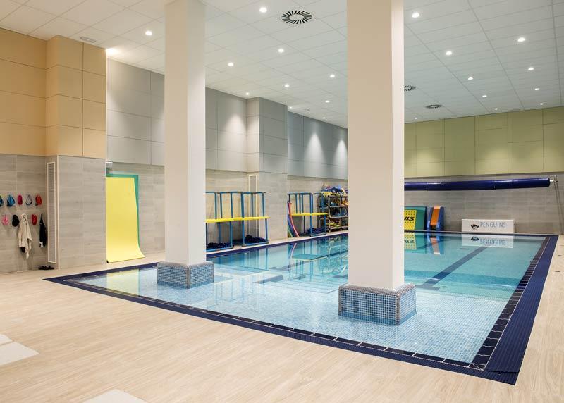 scuola di nuoto Penguins Barcelona