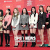 Twice at the Red Carpet of the Golden Disc Awards 2019