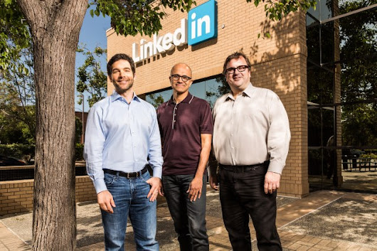 Microsoft Acquires LinkedIn for $26.2 Billion After Nokia | Ship Me This