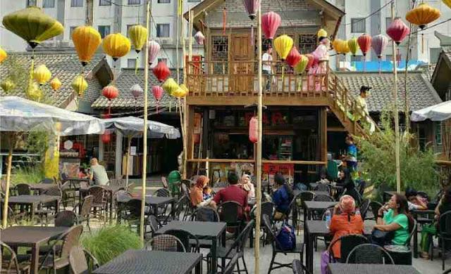 Lokasi wisata kuliner china town atau perkampungan cina di bandung