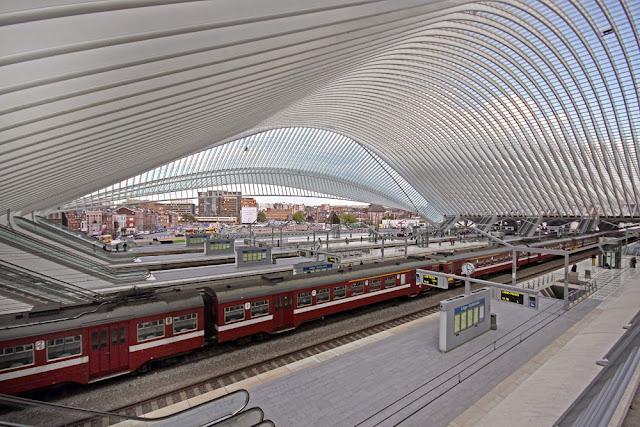 Gare De Liège-Guillemins, Liège, Belgium